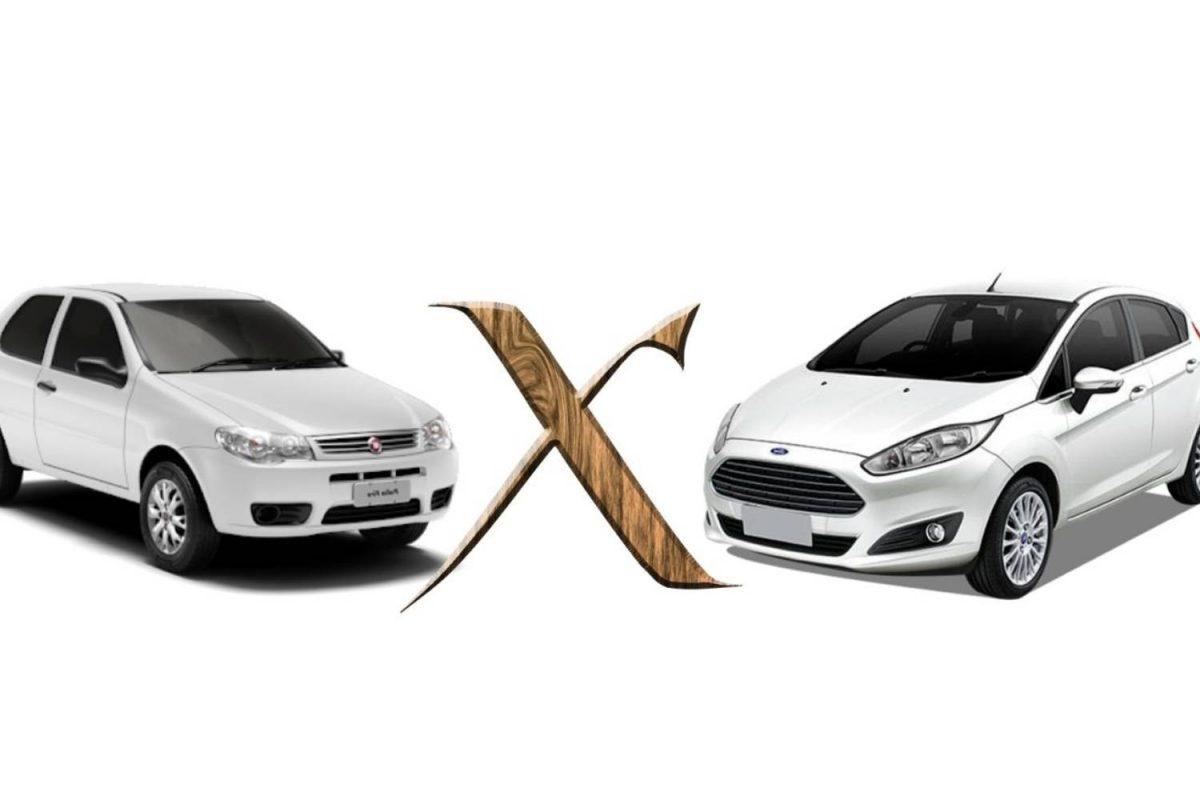 Fiat Palio x Ford Fiest
