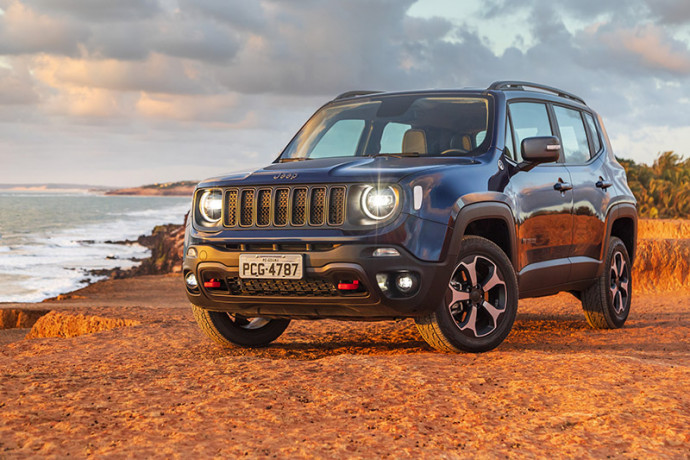 Jeep Renegade atinge marca de 250 mil unidades vendidas