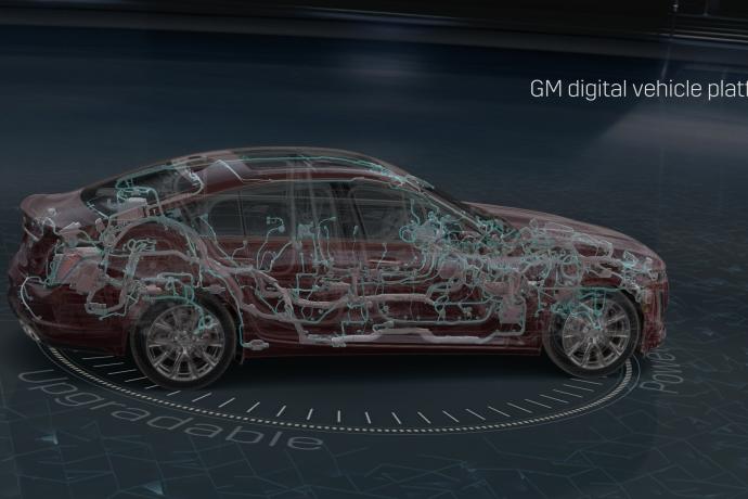 Nova arquitetura eletrônica nos carros da GM