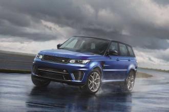 Range Rover Sport SVR chega ao Brasil em 2015