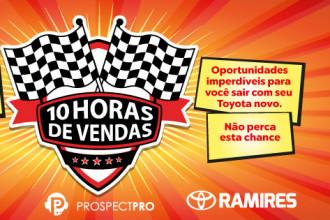 Grupo Ramires Toyota realiza a maior ação de vendas do ano