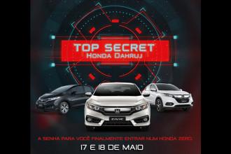 Honda Dahruj Top Secret nessa sexta e sábado