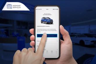 Ford oferece agendamento 100% online