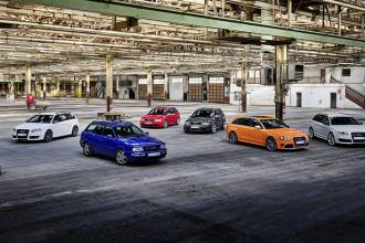 Audi Sport celebra 25 anos dos modelos RS
