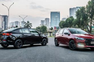 Chevrolet acrescenta Onix RS e Onix Plus Midnight à sua gama