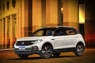 Volkswagen T-Cross 2021 passa a contar com a central VW Play