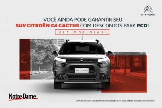 Citroën C4 Cactus Live automático por apenas R$ 69.990
