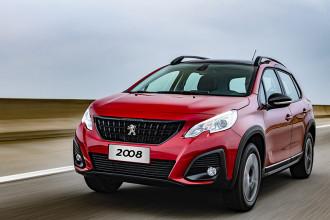 Peugeot 2008 com novo visual e 100% com câmbio automático