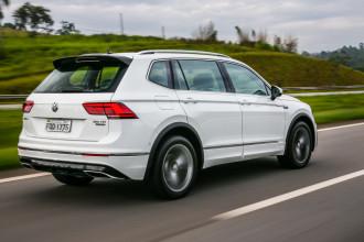 VW Tiguan Allspace registra novo recorde histórico de vendas