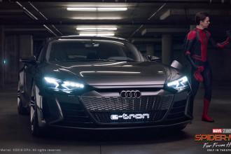 Audi Q8, A7 e e-tron estrelam longa Homem-Aranha: Longe de Casa