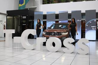 Volkswagen T-Cross é apresentado em Sorocaba, na Abrão Reze