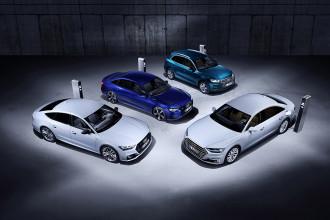 Audi lança Q5, A6, A7 e A8 em versões plug-in híbridas
