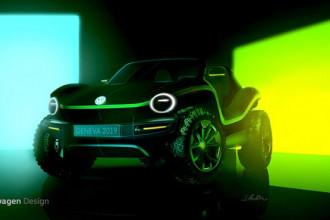 Volkswagen vai mostrar conceito elétrico do buggy