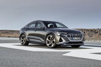 Audi e-tron S Sportback com três motores elétricos entra em pré-venda