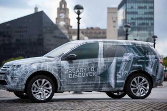 Land Rover e o novo Discovery Sport