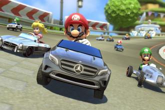 Mercedes-Benz no novo Mario Kart 8