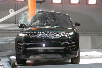 Novo Range Rover evoque recebe nota máxima de segurança