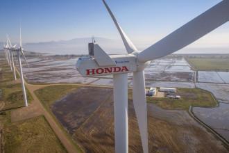 Honda inaugura décimo aerogerador em seu parque eólico