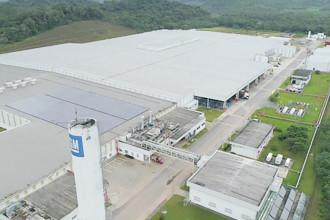 GM inaugura nova linha de motores em Joinville