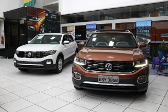 Conheça as quatro versões do Volkswagen T-Cross