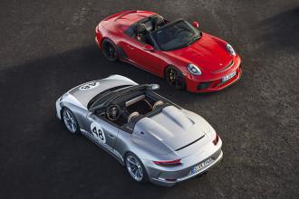 Novo Porsche 911 Speedster entra em produção