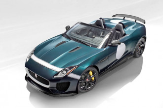 Jaguar oficializa o F-TYPE PROJECT 7