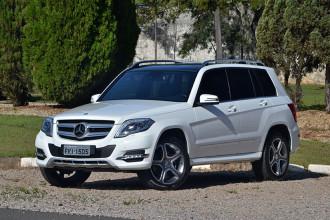 Mercedes-Benz e a GLK 220 à diesel