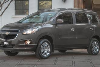 Chevrolet apresenta linha 2015 do Spin