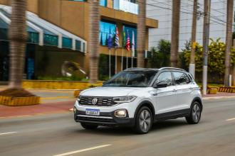 VW T-Cross foi o mais vendido, em sua categoria, no Brasil em 2020