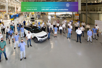Volkswagen atinge marco de 100 mil unidades de T‑Cross produzidas no Brasil