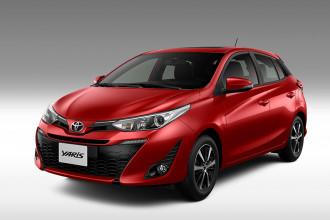Toyota Yaris recebe algumas novidades em sua linha 2020