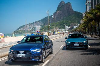 Audi participa da ArtRio com os novos A6 e A7
