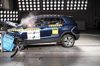 Volkswagen T-Cross recebe cinco estrelas teste de colisão