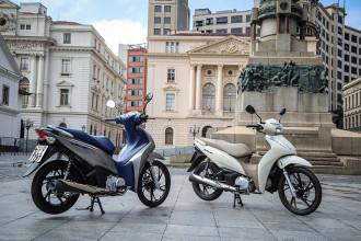 Honda Biz 125 chega ao modelo 2020
