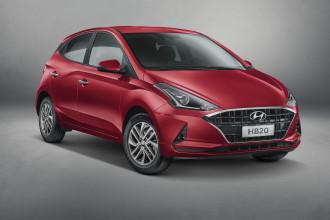 Hyundai revela design externo da nova geração do HB20