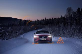Veículos da Volvo conversam entre si sobre perigos