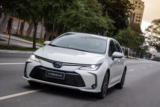 Toyota é responsável por 65% do mercado de híbridos no Brasil em 2019