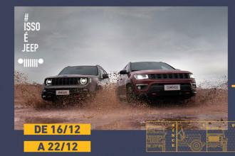 Promoção Last Week Jeep fecha o ano da marca líder em SUVs