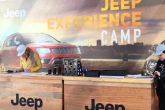 Jeep Camp oferece aventura para toda família
