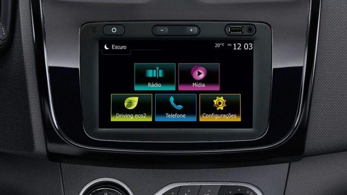 Renault passa a ter multimídia com espelhamento de celular