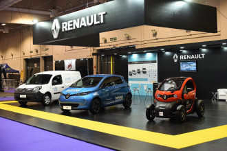 Renault participa pela 5ª vez do Salão de Veículos Híbridos-Elétricos