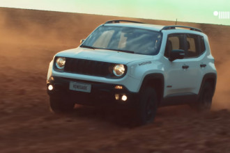 Jeep mostra Renegade Moab em novo vídeo no deserto de Moab
