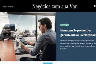 Mercedes-Benz lança plataforma com conteúdo exclusivo para empreendedores