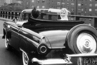 Ford Thunderbird e Marilyn Monroe, ícones sexy dos anos 50