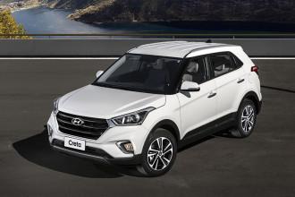 """Hyundai Creta lidera entre os """"SUVs"""" em agosto"""