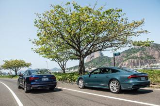 Audi apresenta novos A6 e A7 no Brasil