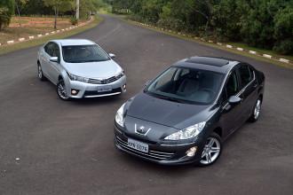 Comparativo: Novo Toyota Corolla x Peugeot 408 THP
