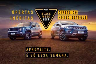 Jeep promove Black Week com mais de mil ofertas
