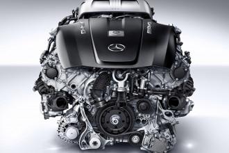 Mercedes-Benz e o novo motor AMG V8 - 4,0 litros