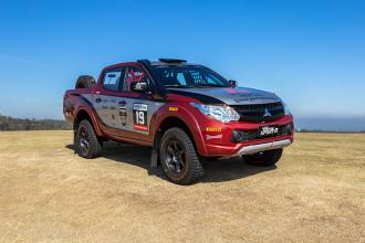 L200 Triton Sport R faz sua estreia no Brasileiro de Rali Cross-country